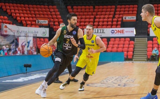 Darüşşafaka, FIBA Şampiyonlar Ligi'ne veda etti