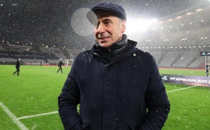 Avcı, Fenerbahçe maçının taktiğini belirledi