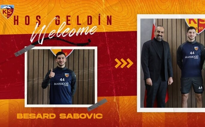 Kayserispor'da son günde 2 transfer birden!