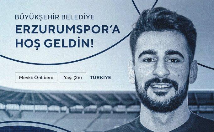 Erzurumspor'dan ön liberoya hamle!