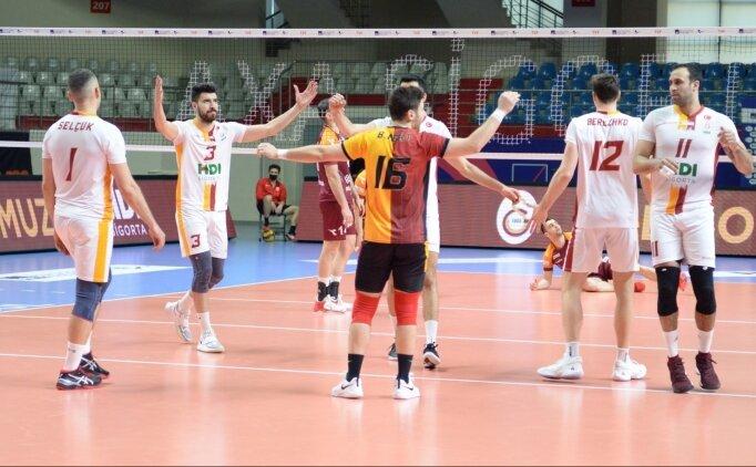 Galatasaray HDI Sigorta, İnegöl'e set vermedi