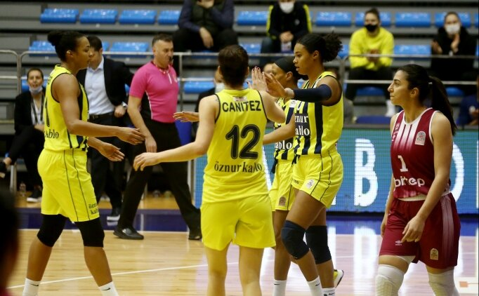 Fenerbahçe Öznur Kablo, deplasmanda farka koştu