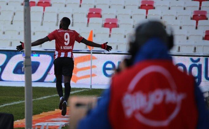 Sivasspor, Yatabare ve Gradel ile 3 puanı kaptı