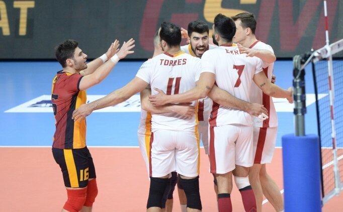 Galatasaray HDI Sigorta, Ankara'dan galibiyetle döndü