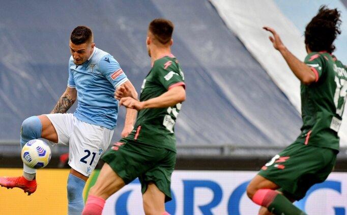 Lazio zorlandı ama Crotone'u yendi!
