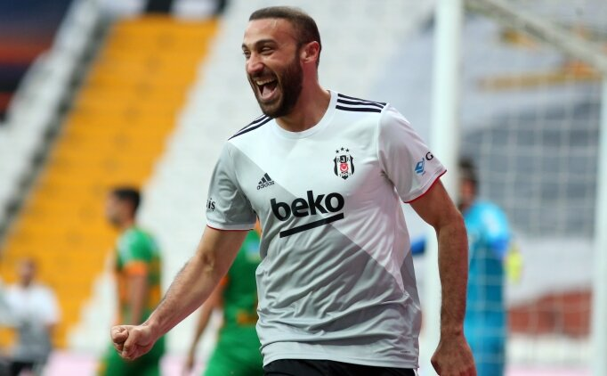 Beşiktaş'ta Cenk Tosun'un hedefi 90