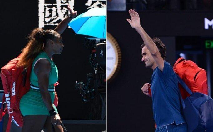 Serena Williams'a göre en iyisi Federer