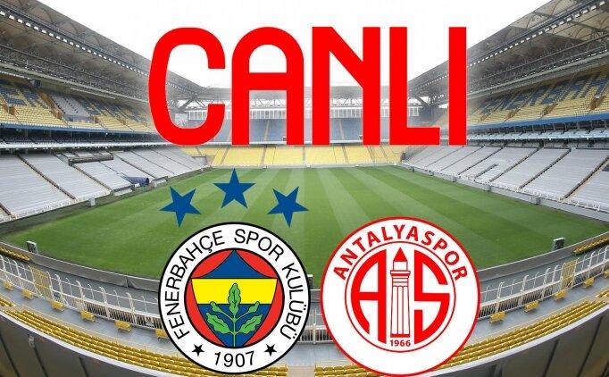 Fenerbahçe Antalyaspor izle link bein sports, FB izle