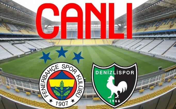 Fenerbahçe Denizlispor maçı link | Fenerbahçe Denizli canlı yayın