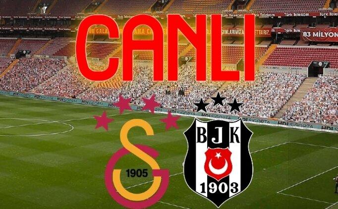 Galatasaray Beşiktaş İZLE, GS BJK maçı kaç kaç?