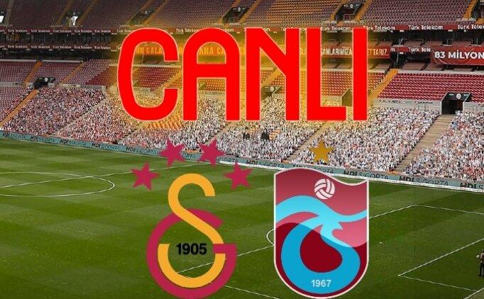 Galatasaray Trabzonspor İZLE, GS TS maçı kaç kaç?