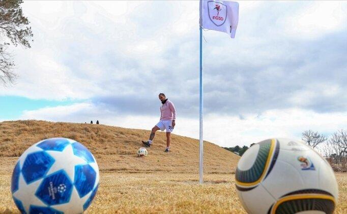 Futbol ve golfü bir araya getiren 'Futgolf'