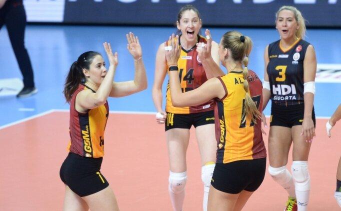 Erteleme maçında Galatasaray, Yeşilyurt'u yendi