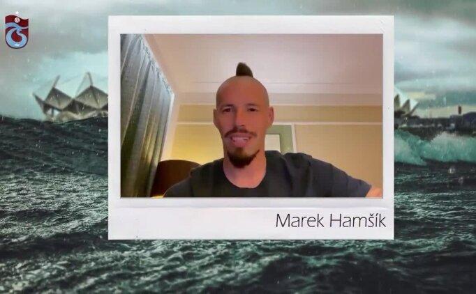 Marek Hamsik'ten Trabzonspor taraftarına mesaj