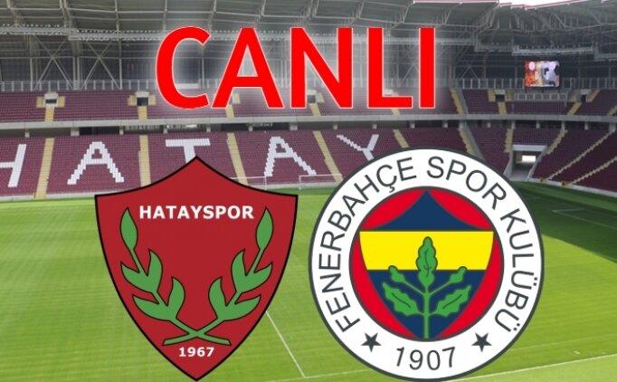BEIN İZLE Hatayspor Fenerbahçe canlı maç izle