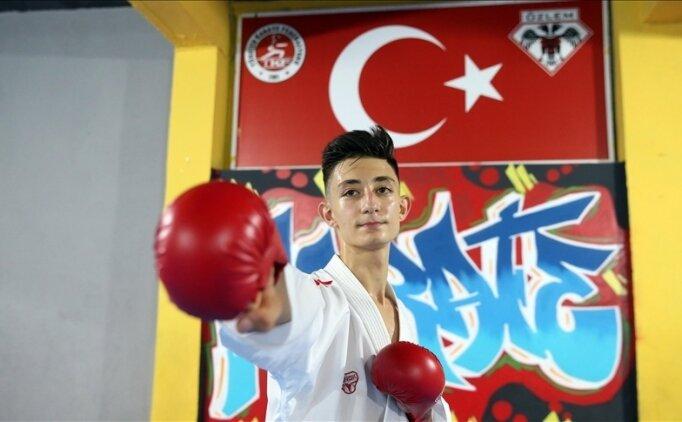 Avrupa şampiyonu karatecinin hedefi dünya şampiyonluğu