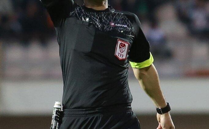 TFF 1. Lig'de 6. hafta maçlarını yönetecek hakemler açıklandı
