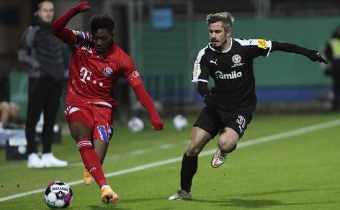 Bayern kupada kabus yaşadı, 2. Lig ekibine elendii