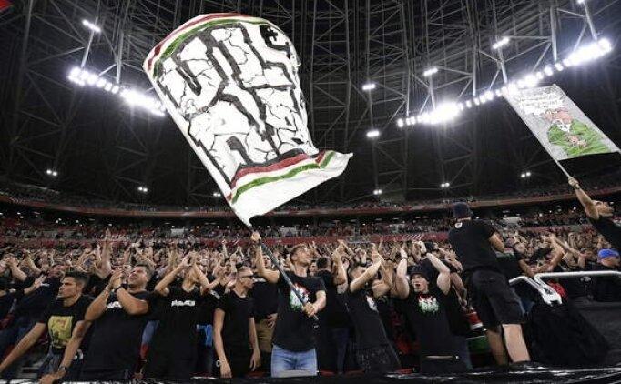 FIFA'dan Macaristan'a 2 maç ceza