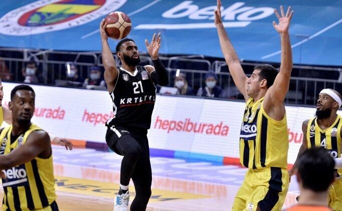 Pota derbisinde Beşiktaş, Fenerbahçe Beko'yu yendi
