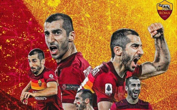 Roma, Mkhitaryan'ın sözleşmesini 1 yıl daha uzattı