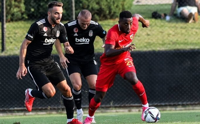 Beşiktaş, Kayserispor'a 3 golle yenildi