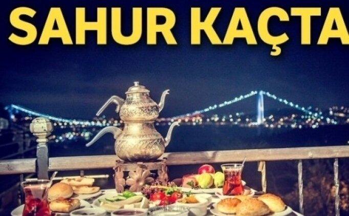 Diyarbakır sahur vakti saatleri 2021
