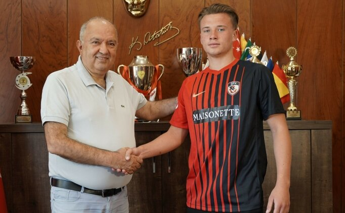 Gaziantep FK'dan Ukrayna'ya transfer oldu