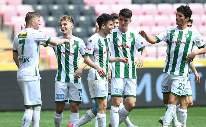 Bursaspor, Eskişehirspor'u 5-1'le geçti