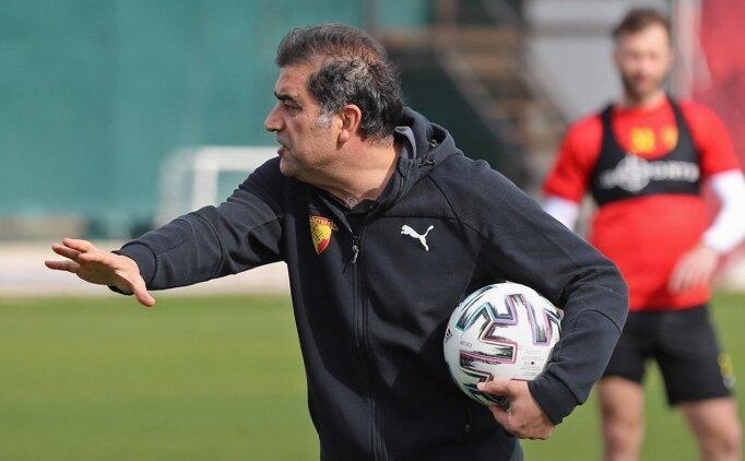 Göztepe'de Ünal Karaman, eski takımı Rizespor'a karşı