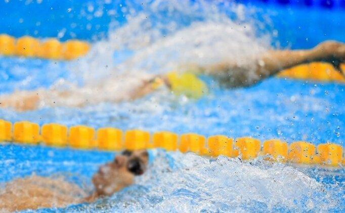 Yüzmede milli takım seçmelerinde Türkiye rekoru