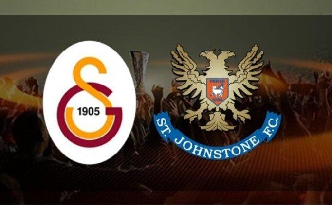 Galatasaray St. Johnstone maçı canlı şifresiz izle! (Spor Smart izle)