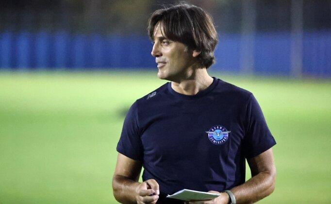 Adana Demirspor, Vincenzo Montella ile ilk maçına çıkacak