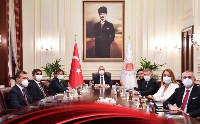 Kulüpler Birliği'nden Adalet Bakanı ile önemli görüşme