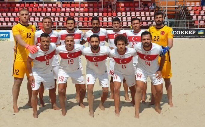Plaj Futbolu Milli Takımı, Umman'a 7-0 yenildi