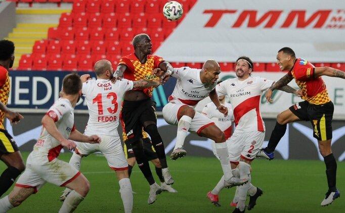 Göztepe, Süper Lig'de galibiyete hasret kaldı