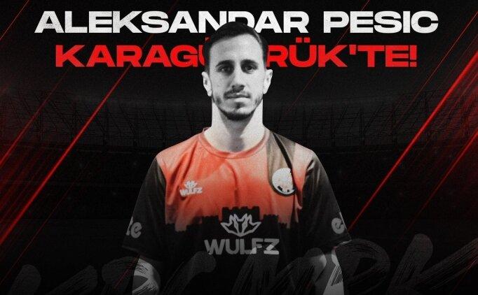 Fatih Karagümrük, Aleksandar Pesic'i transfer etti