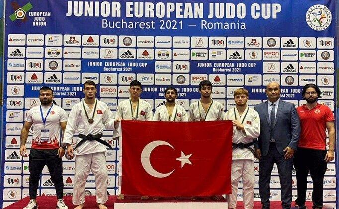 Gençler Avrupa Judo Kupası'nda ilk gün 5 madalya