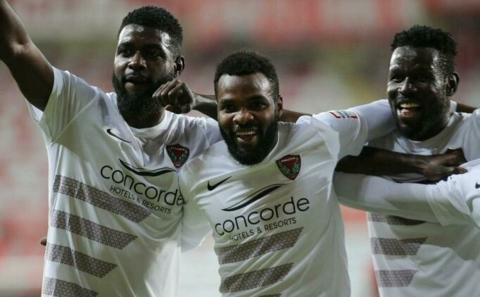 Hatayspor'dan Boupendza ve Diouf için transfer yanıtı