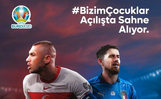Türkiye - İtalya maçı canlı olarak Tuttur'da