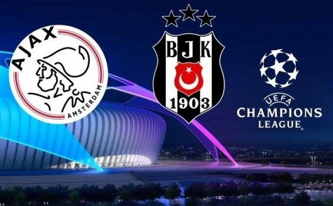 CANLI Ajax Beşiktaş maçı izle linki