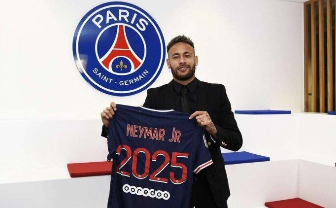 PSG Neymar ile sözleşme yeniledi
