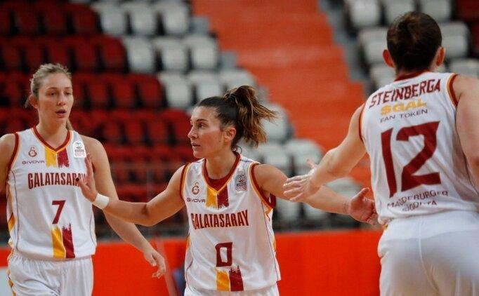 Galatasaray Kadın Basketbol Takımı'ndan rahat galibiyet