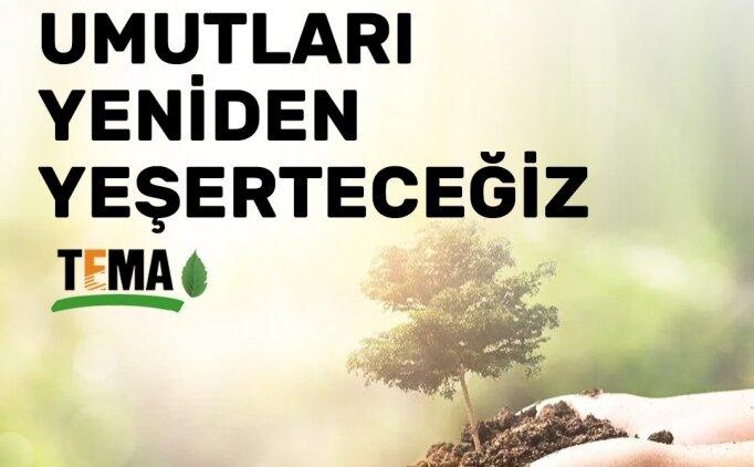 Galatasaray, TEMA Vakfı'na 9709 fidan ile destek