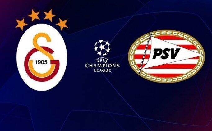Spor Smart izle şifresiz! Galatasaray PSV maçı CANLI izle