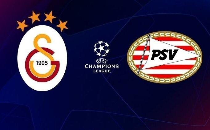 GS PSV maçı canlı izle! Galatasaray şifresiz canlı yayın