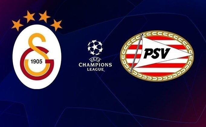 GS maçı CANLI İZLE! Galatasaray PSV Eindhoven şifresiz izle