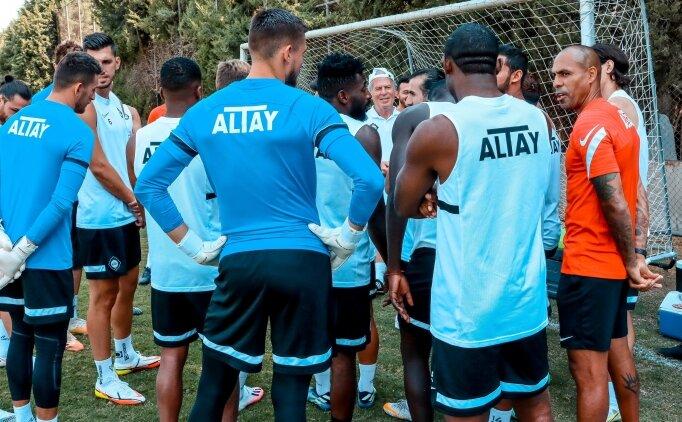Altay, Fenerbahçe maçının hazırlıklarına başladı
