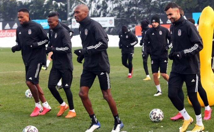 Beşiktaş'ta Karagümrük maçı öncesi bir isim pozitif