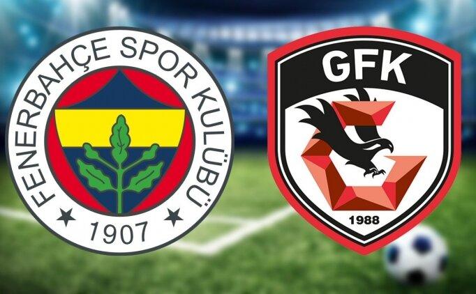 FB maçı izle, Fenerbahçe Gaziantep FK maçı izle canlı yayın